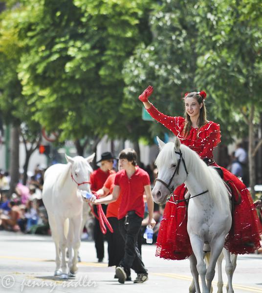 Equestrian Parade Santa Barbara, California