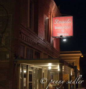 Postcard from Pearls Dance Hall and Saloon @PennySadler 2013