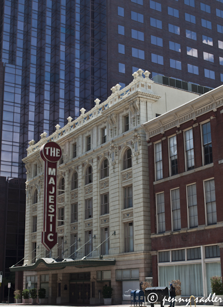 Majestic Theater, Dallas, architectural tour