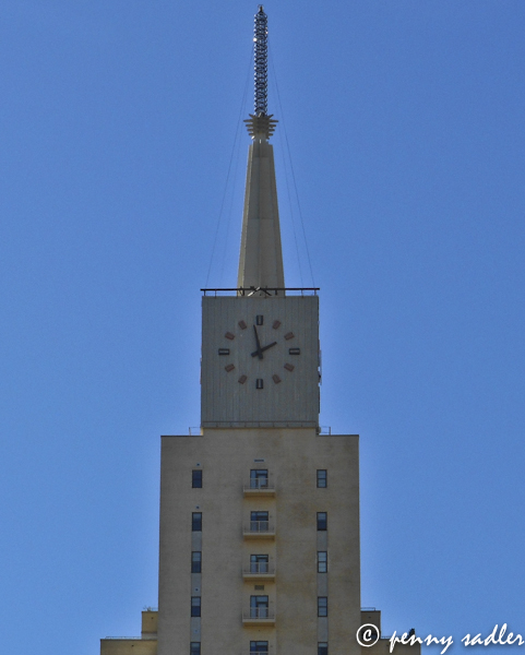 Mercantile Clock Tower dallas walking tour