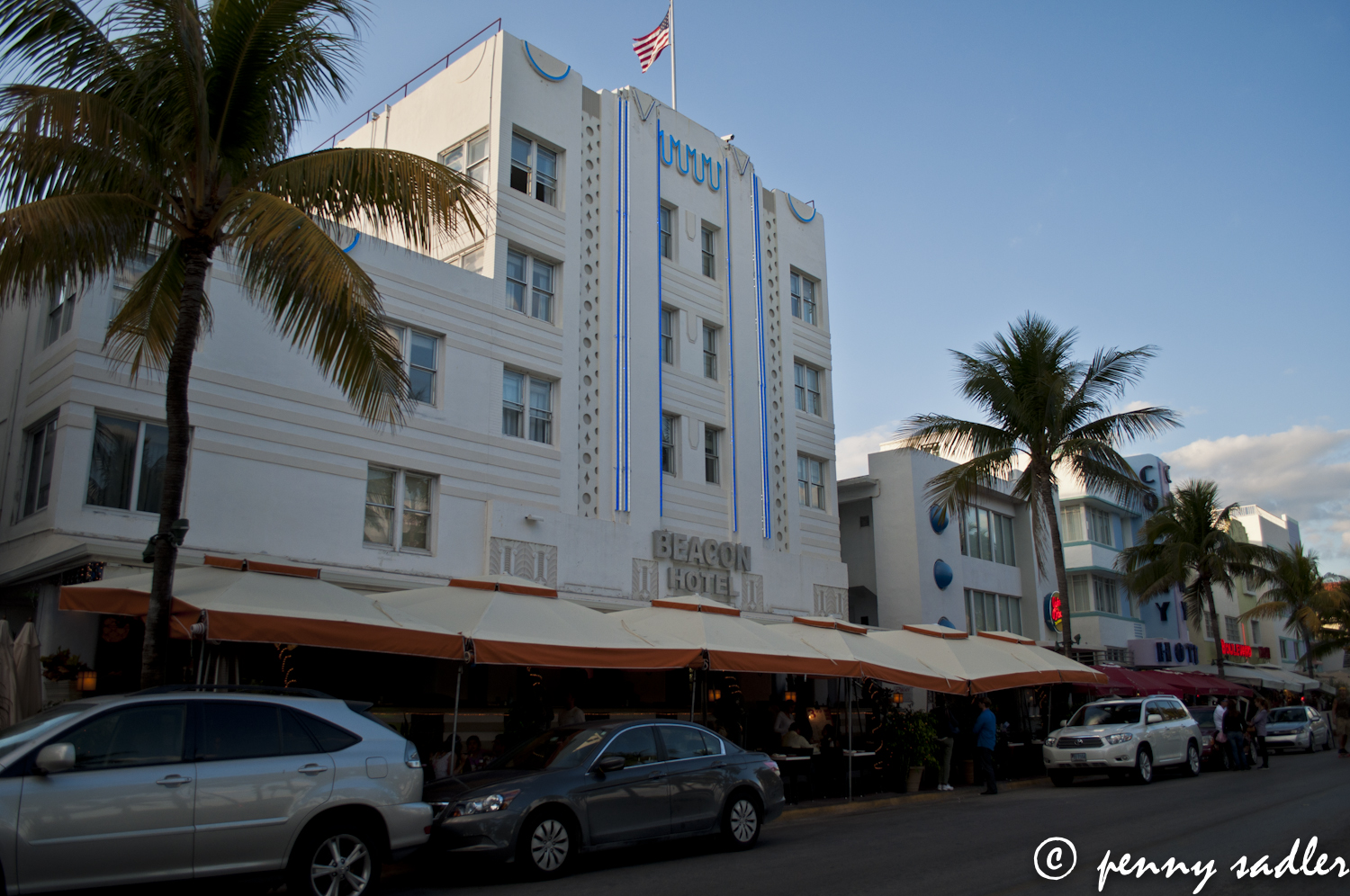 ocean drive, miami, Art Deco architecture
