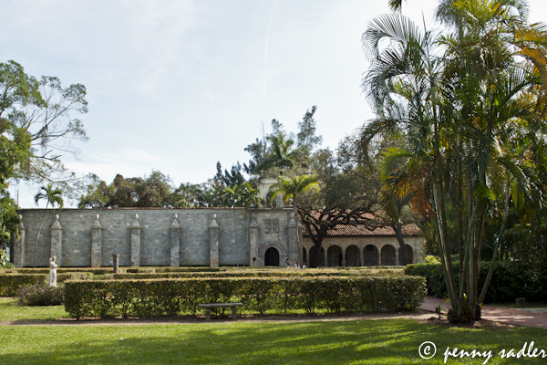 The Cloisters of the Ancient Spanish Monastery and St. Bernard de Clairvaux, Miami, Florida, @PennySadler 2013