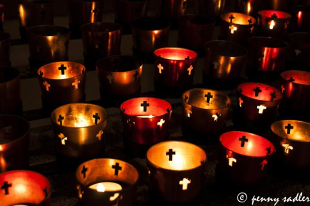 Beautiful altar at Spanish Monastery @PennySadler 2013