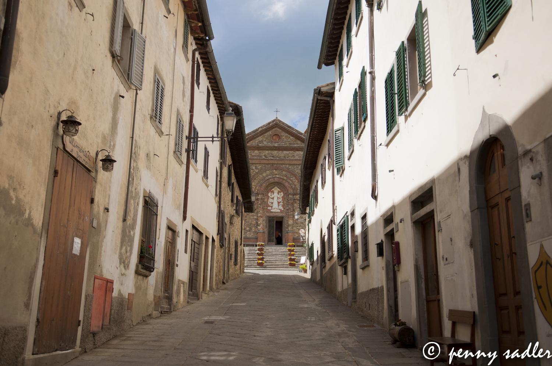 Santa Maria della Asunta, Panzano in Chianti, Italy @PennySadler 2013