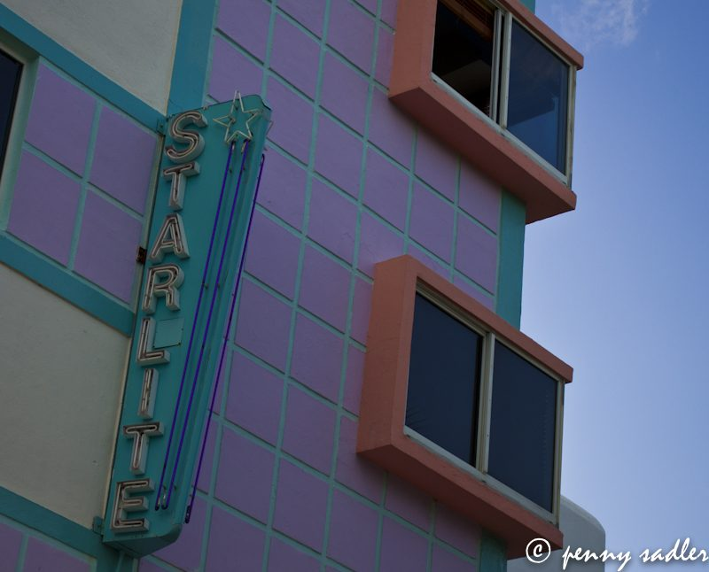 Starlite Hotel, art deco, South Beach, Miami @PennySadler 2013