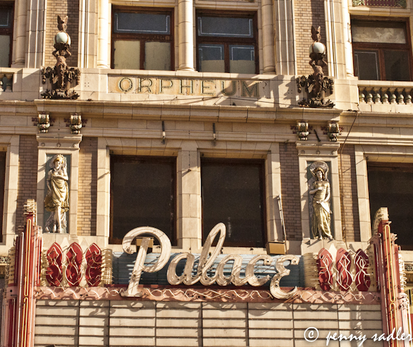 the palace theater, downtown los angeles