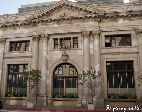 Historic downtown Los Angeles  @PennySadler 2013