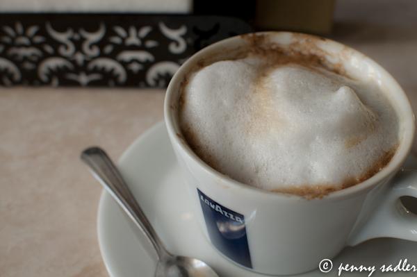 Italian style cappuccino @PennySadler 2103