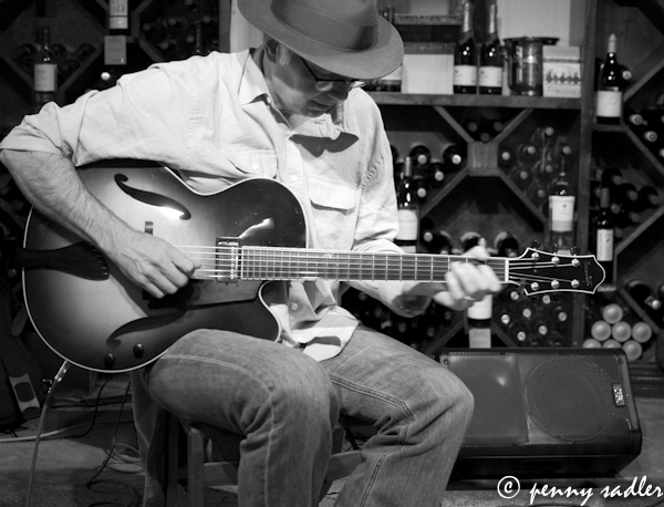 Jason Bucklin on jazz guitar, buzzbrews kitchen
