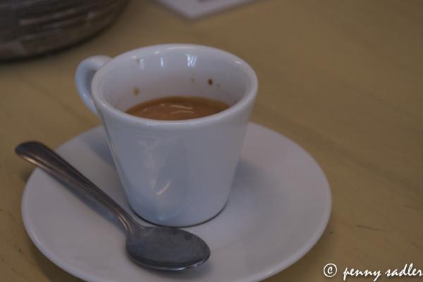 Italian espresso at Duettoo @PennySadler 2013