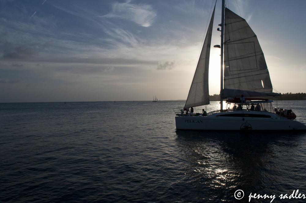Sunset in Key West, Florida @PennySadler