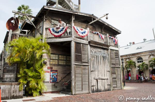 Key West, Shipwreck Museum, @PennySadler 2013