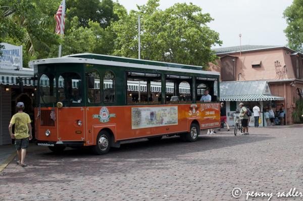 Key West Trolley Tour @PennySadler 2013