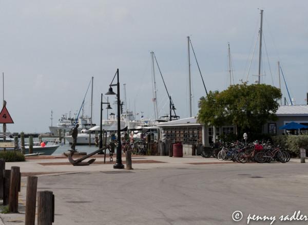 Key West Harbor, @PennySadler 2013