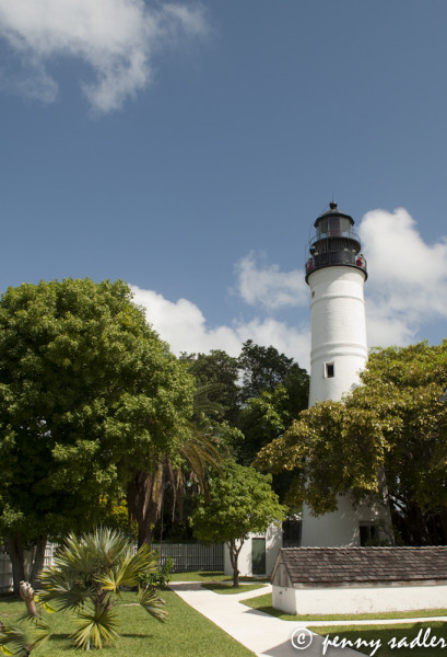 Key West Light house @PennySadler 2013