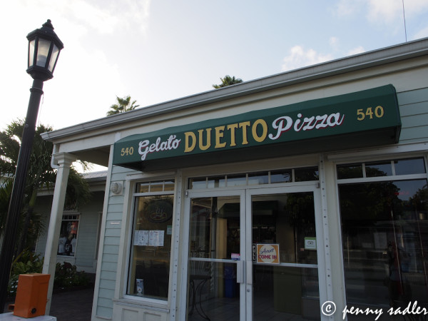 Key West, Duetto cafe, @PennySadler 2013