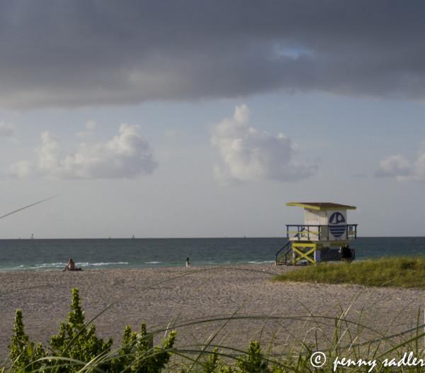 South Beach, Miami, Florida, @PennySadler 2013