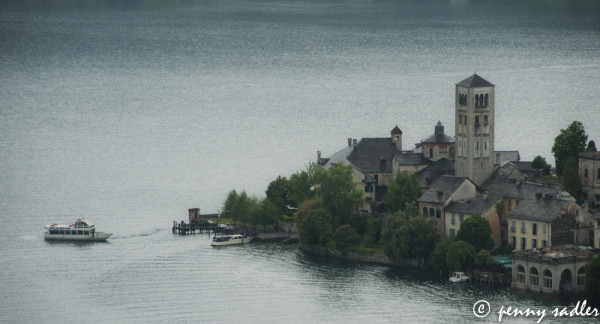 Isola San Giulio, Lago di Orta @PennySadler 2013