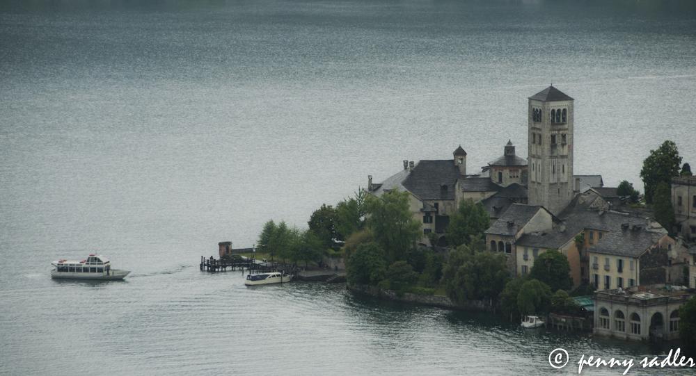 Isola San Guilio, Lago di Orta @PennySadler 2013
