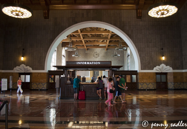 entrance to union station los angeles
