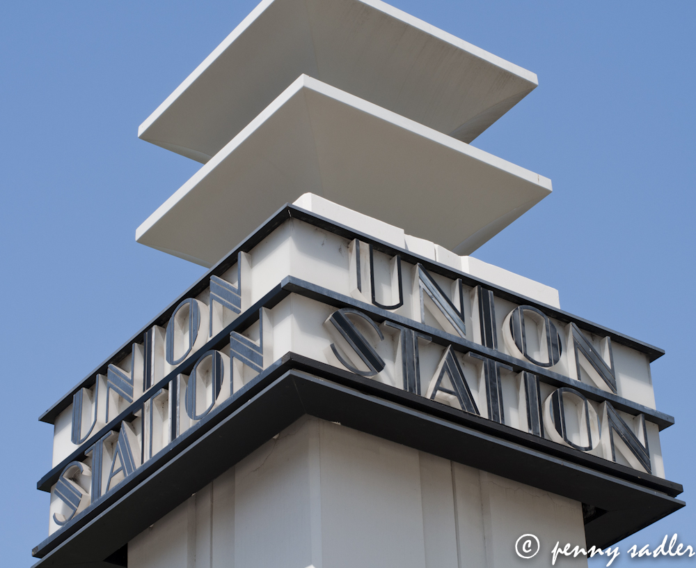 Cool Building Union Station Los Angeles @PennySadler 2013