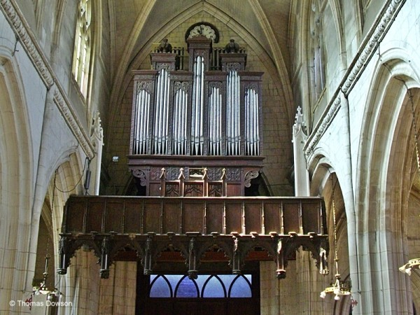 Going off the beaten path in Normandy          Normandy. Looking down the nave towards the choir.@Thomas Dowson
