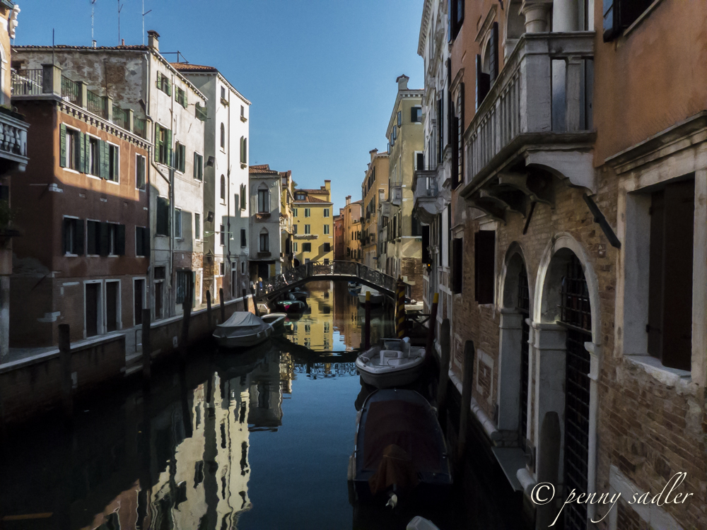 canal in Venice Italy @PennySadler 2013