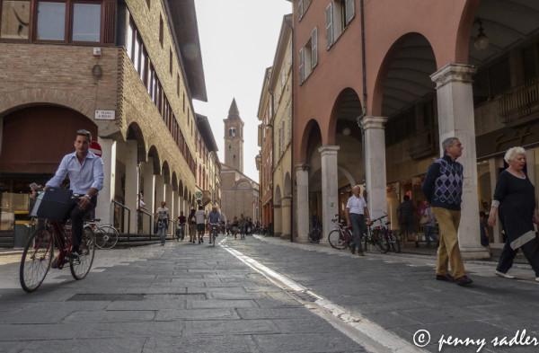 A Walk Around Cesena, @PennySadler 2013