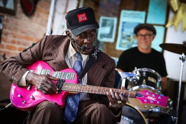 "photo of Leo ""Bud"" Welch in Clarksdale, Mississippi by Jeff Williams"