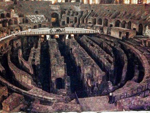 Interior Colosseum Colosseum @PennySadler 2013
