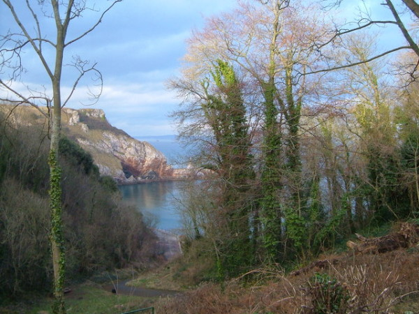 ansteys cove, English Riviera @PennySadler 2103