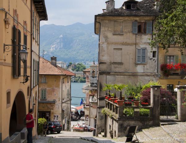 Lago di Orta, Italy.