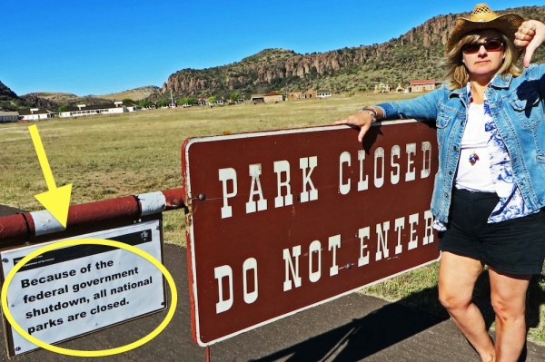 Park Closed Texas @Changesinlongitude.com