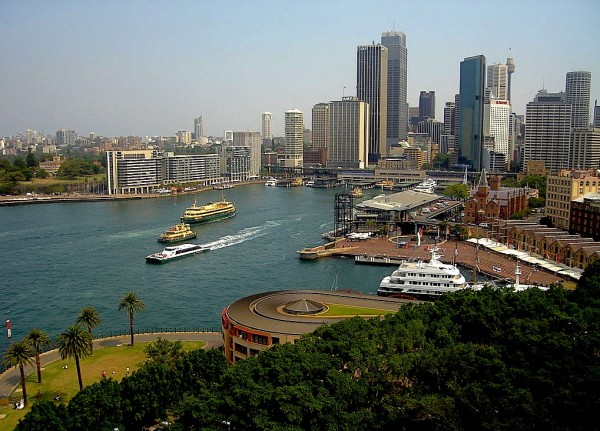 Sydney Harbour is one of the most beautiful in the world.