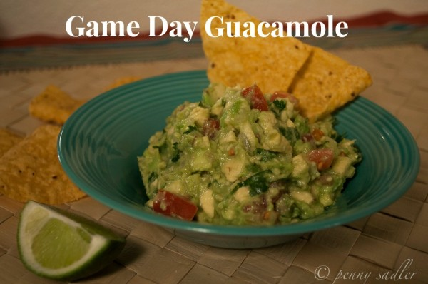 Guacamole and chips @PennySadler 2014