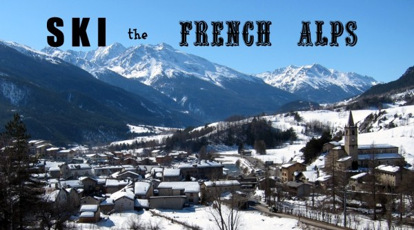 Ski the French Alps adventuresofacarryon.com