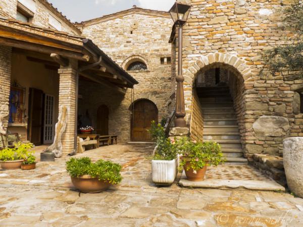 exterior Castrum Sagliani, Cesensa, @PennySadler 2013-2014