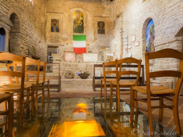 interior Castrum Sagliani Cesena, @PennySadler 2013-14