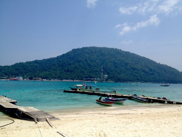 Perhentian Besar in Malaysia.@Bethaney Davies