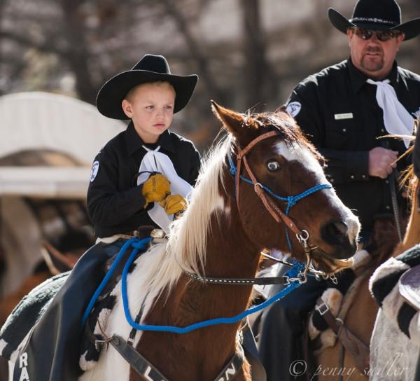 Cute little boy on a horse. FtWorth SSR @PennySadler 2014