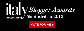 Italy Mag Blogger Awards banner 2013