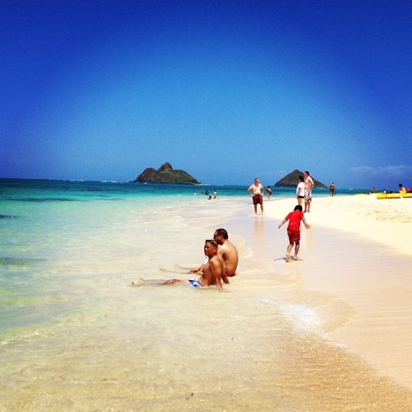 @Kate Voyage for 30 Traveler.com Lanikai beach