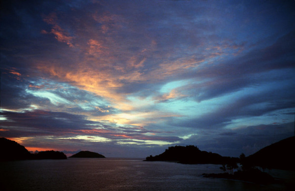 Sunset Mahe' Seychelles