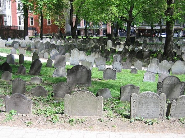 Granary Burial Grounds, from 8 things you must do in New England