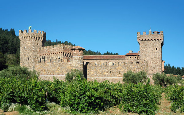 Authentic Tuscan castle in Napa Valley @PennySadler 2014