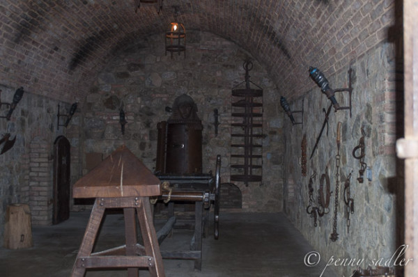dungeon and torture chamber
