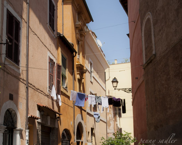 When Travel isn't what you Expect, Trastevere, Rome, Italy @PennySadler 2014