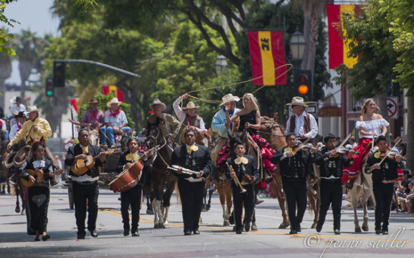 Fiesta Santa Barbara @PennySadler 2014