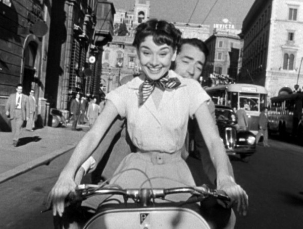 audrey hepburn in Roman Holiday @PennySadler