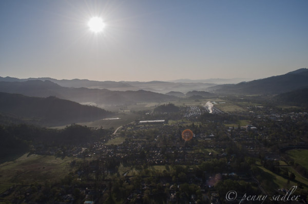 Flying High Over Napa Valley with Calistoga Balloons